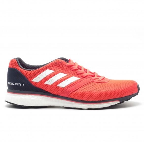 Adidas Adios Boost 4 Uomo Rosso - Scarpe Running Uomo