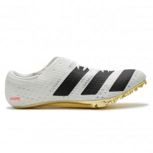 Adidas Finesse Unisex Bianco Nero Scarpe Chiodate e da Pista per atletica specialistica uomo e donna - 1