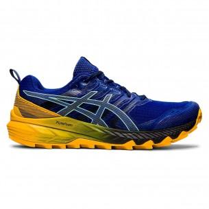 Asics Fujitrabuco 09 Uomo Blu Arancio Scarpe Running Uomo - 1