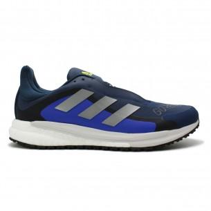 Adidas Solar Glide 04 G-TX Uomo Blu Giallo Scarpe Running Uomo - 1
