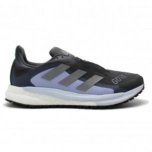 Adidas Solar Glide 04 G-TX Donna Grigio Viola Scarpe Running Donna - 1