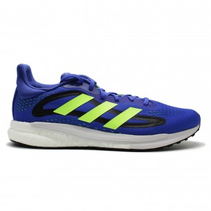 Adidas Solar Glide 04 Uomo Blu Verde Scarpe Running Uomo - 1