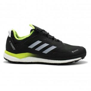 Adidas Terrex Agravic Flow G-TX Uomo Nero Giallo Scarpe Running Uomo - 1