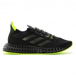 Adidas 4D FWD 01 Uomo Nero Verde Scarpe Running Uomo - 1