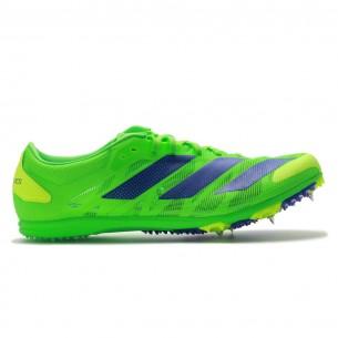Adidas XCS Unisex Verde Scarpe Chiodate e da Pista per atletica specialistica uomo e donna - 1