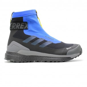 Adidas Terrex Free Hiker Cold Ready Uomo Nero Blu NO Scarpe Running Uomo - 1